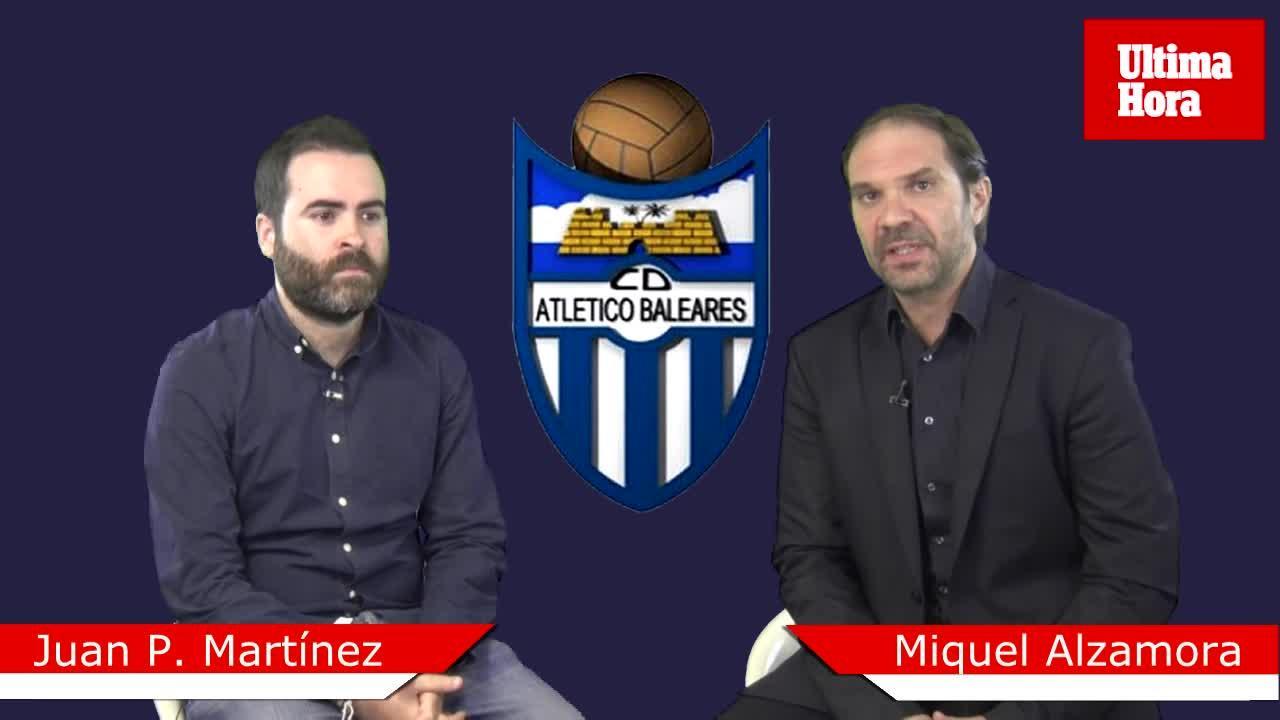 Juan P. Martínez: «Cada partido del Atlético Baleares es una final»