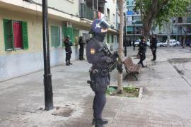 La 'Operación Alhambra' se salda con once detenidos y nueve registros en Son Gotleu