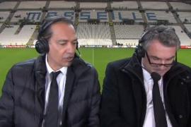 Un periodista francés, suspendido por llamar «gilipollas y maricones» a los jugadores del Leipzig