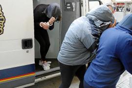 Orden de alejamiento de Son Gotleu a tres detenidos por vender marihuana