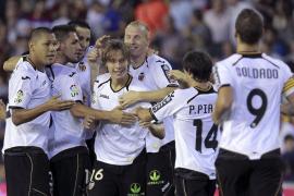El Valencia suma una victoria con la ley del mínimo esfuerzo