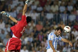 Baptista pone líder el Málaga con un gol antológico