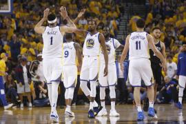Los Warriors encienden el 'modo play off' y arrasan a los Spurs de Gasol