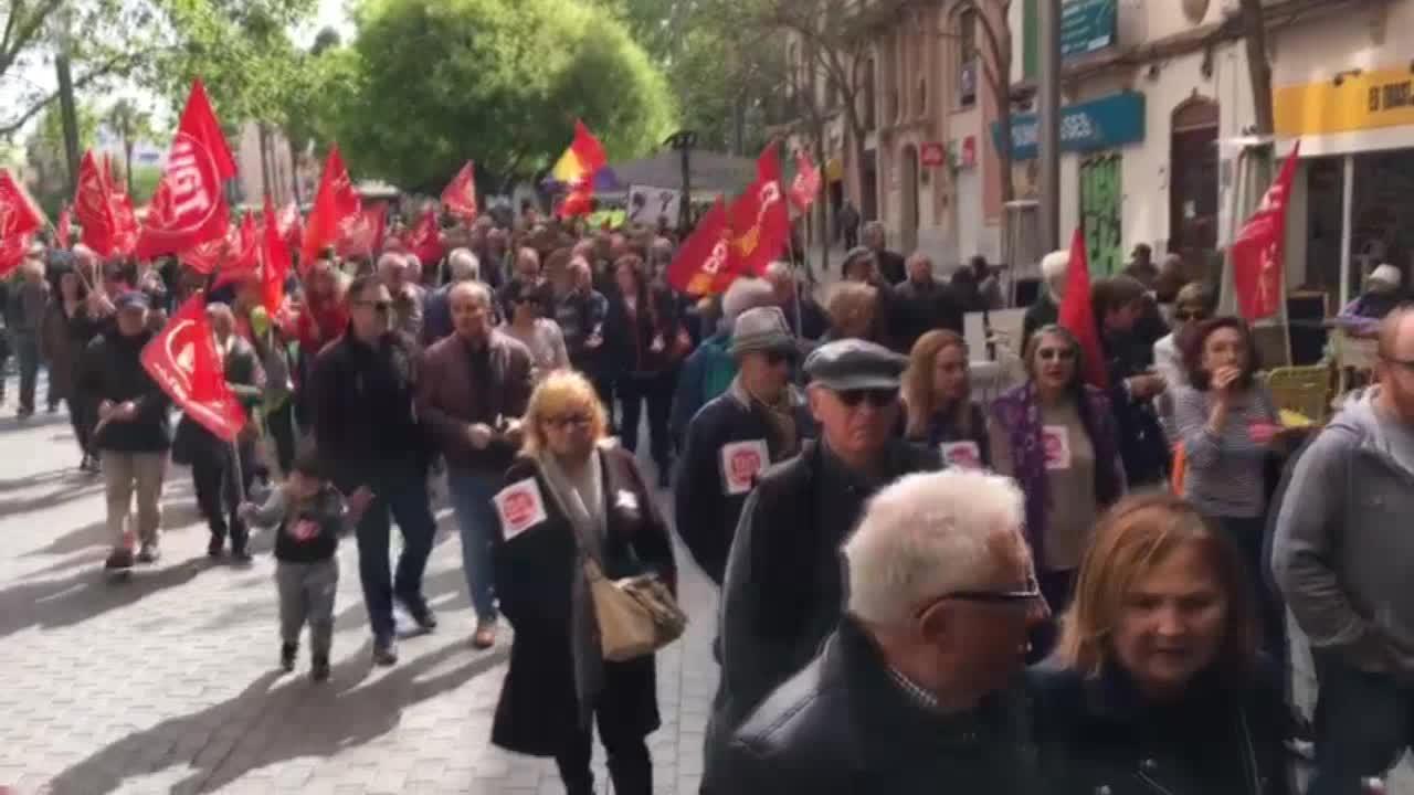 Movilizaciones en Palma por «unas pensiones dignas»