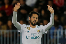 El Real Madrid recupera la tercera plaza tras derrotar al Málaga