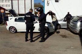 Desmantelada una red de talleres ilegales en Son Castelló