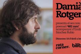 Damià Rotger presenta su nuevo poemario en Rata Corner