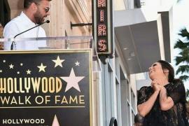 Eva Longoria recibe su estrella en el Paseo de la Fama de Hollywood
