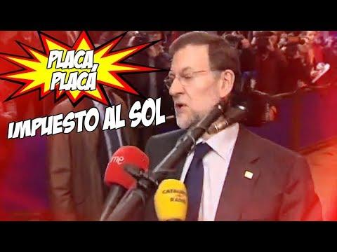 Greenpeace parodia a Rajoy en un vídeo sobre las renovables