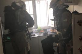 Una mujer resulta intoxicada por inhalación de humo en su domicilio de Palma