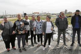 Familias de Son Banya protestarán en Cort contra el plan de desalojos