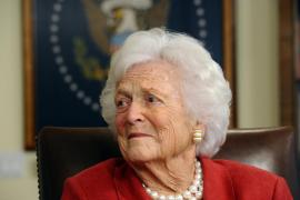 Fallece la ex primera dama de EE.UU. Barbara Bush
