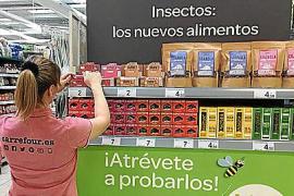Carrefour lanza una gama de nuevos alimentos elaborados con insectos