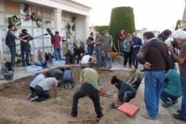 El Govern, obligado a expropiar los nichos de Porreres para continuar la exhumación