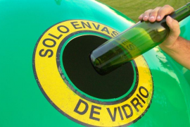 Baleares, a la cabeza del reciclaje de vidrio