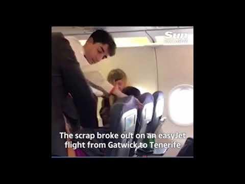 Pelea en un vuelo con exceso de vodka