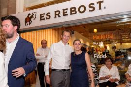Todo a punto para la apertura del nuevo Es Rebost en la plaza de España de Palma