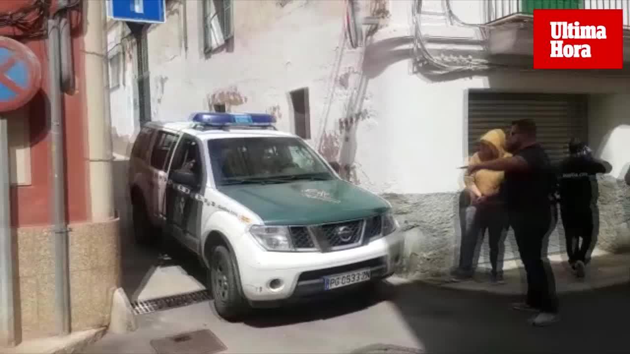 La Guardia Civil detiene al menos a diez personas en una operación antidroga en Andratx