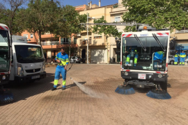 El nuevo plan de limpieza de Emaya llega a 46 barrios del extrarradio de Palma
