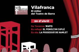 Llega la segunda edición de 'Espai Escènic' de Teatre de Barra llega a Vilafranca