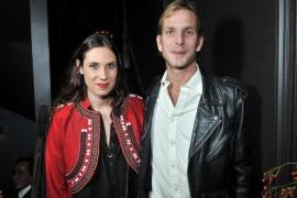 Andrea Casiraghi y Tatiana Santo Domingo