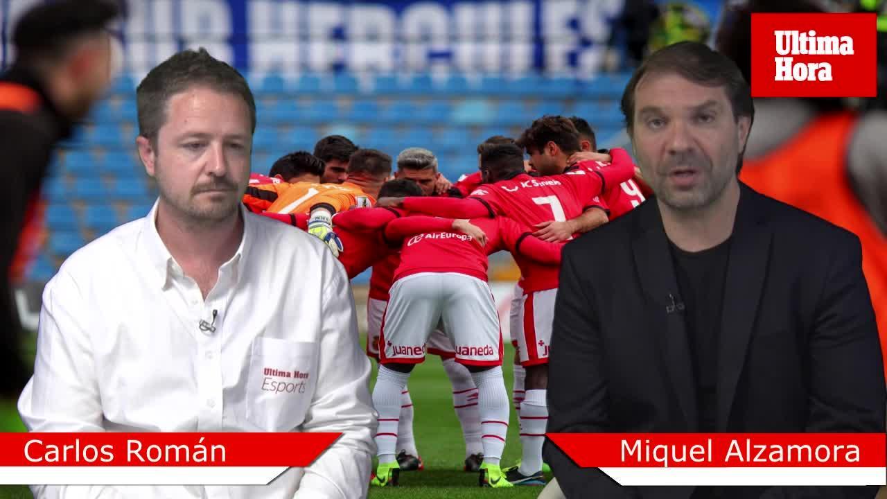 Carlos Román: «No será fácil que el Mallorca sea campeón esta jornada»