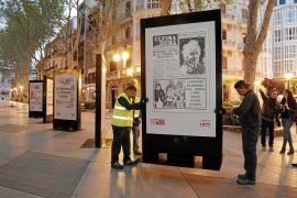 Exposición de portadas de Ultima Hora en Palma