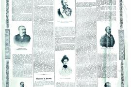 Portada de La Ultima Hora en 1902