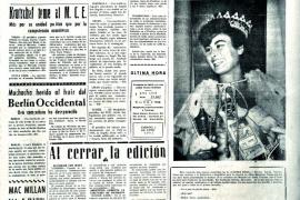 portada de La Última Hora en 1962