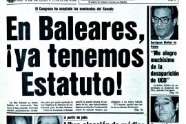Portada de Ultima Hora en 1983