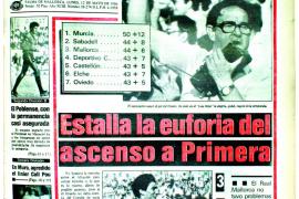 Portada de Última Hora en 1986