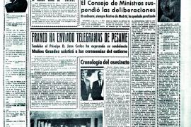 Portada de La Última Hora en 1963
