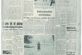 portada de La Última Hora en 1956