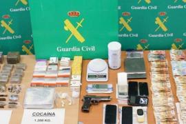Incautan más de un kilo de 'coca' en la operación de Andratx