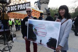 Manifestación contra la masificación turística en las Pitiusas