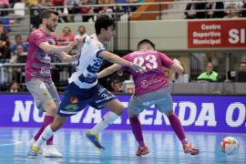 El Palma Futsal deja escapar el partido en Zaragoza y deberá certificar la sexta plaza en la última jornada