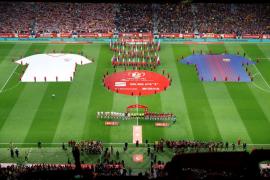 La final de la Copa del Rey entre el Sevilla y el Barça, en imágenes