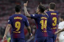 El Barcelona vapulea al Sevilla y levanta su trigésima Copa del Rey
