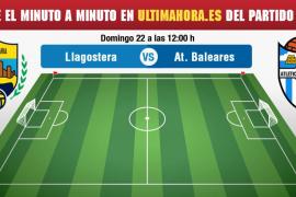Llagostera-Atlético Baleares, en directo