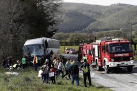 Dos fallecidos y varios heridos en un accidente en la localidad navarra de Lantz