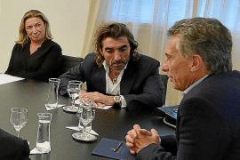 Air Europa anuncia al presidente Mauricio Macri que hará vuelos directos entre Iguazú y Madrid