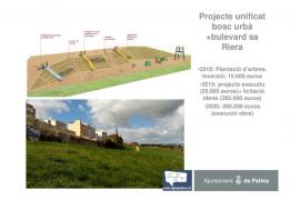 Cort comenzará este año el bulevar de sa Riera plantando árboles por 15.000 €