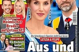 La prensa alemana habla del divorcio «inminente» de Felipe VI y Letizia
