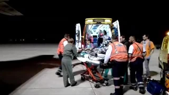 El Ejército del Aire traslada de Mallorca a Madrid a un bebé en estado crítico