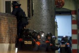 Dado de alta uno de los mossos heridos en el tiroteo de anoche en Barcelona