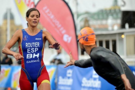 La triatleta olímpica Carolina Routier, hospitalizada tras sufrir un atropello