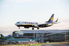 Ryanair enlazará en verano Palma con Santander, Valladolid y Zaragoza