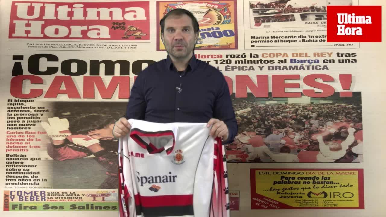 ¿Quieres una camiseta oficial del Real Mallorca de la final de Mestalla?