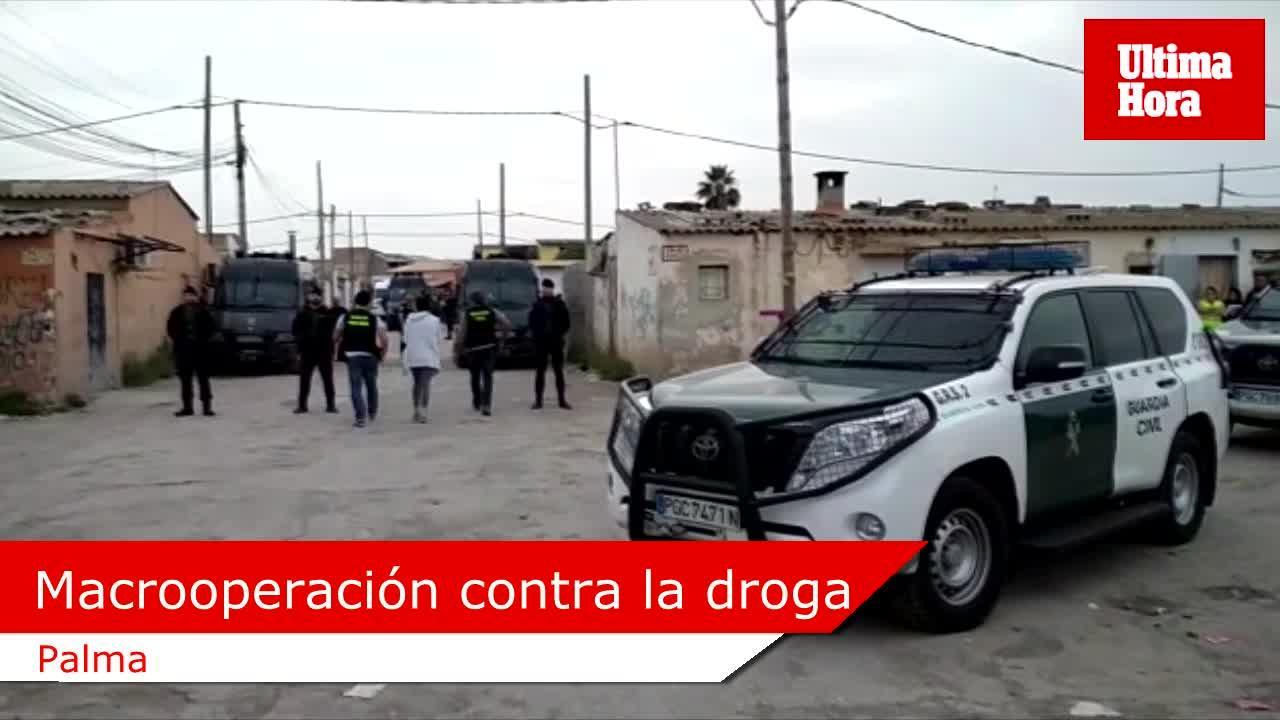 Más de 20 detenidos en una macrooperación contra los clanes de la droga en Mallorca