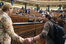 Pablo Iglesias acusa al PP de «destruir sin escrúpulos a un ser humano»